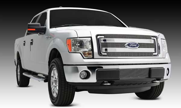 T Rex Billet Series Grille Overlay For 2013 2014 Ford F 150 Mpt Performance