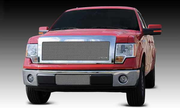T-Rex Upper Class Polished Mesh Grille for 2009-2012 Ford F-150