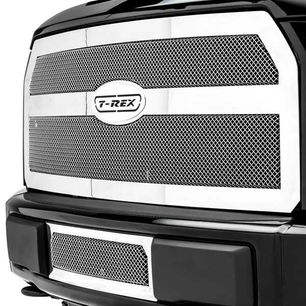 T-Rex Upper Class Mesh Grille for 2015-2016 Ford F-150