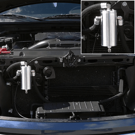 2011-2014 Ford F150 Ecoboost 3.5L UPR Dual Valve Oil Catch-Can