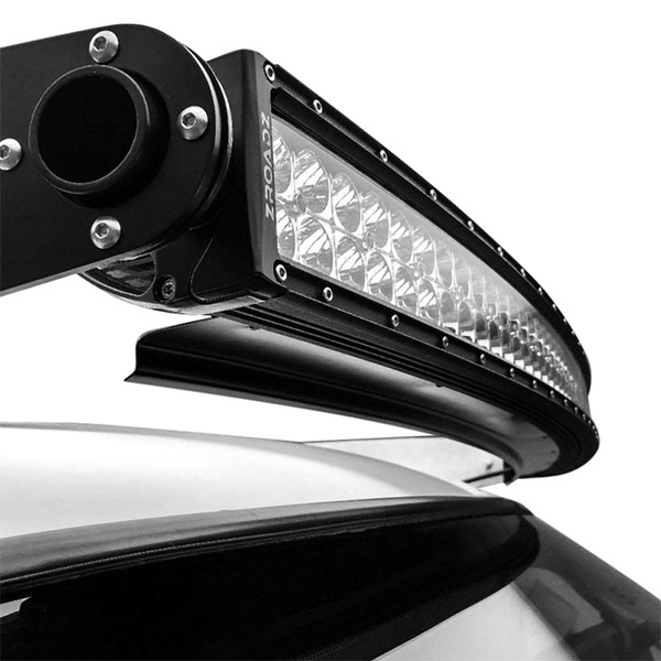 Zroadz front roof led light bar mounting kit combo with a 50 curved home f 150 zroadz front roof led light bar mounting kit combo with a 50 curved led light bar for 2015 2016 ford f 150 aloadofball Image collections
