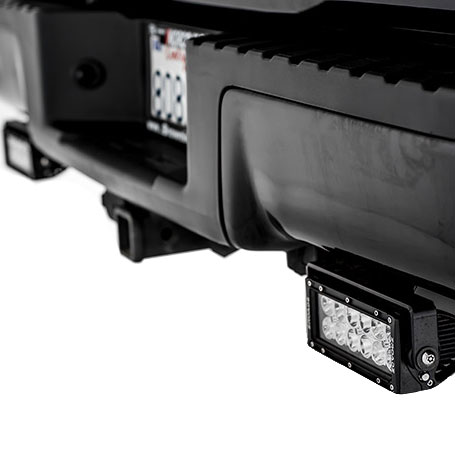 ZRoadz Rear Bumper LED Mounting Kit Combo with 2 LED Light Bars for 2015-2016 Ford F-150