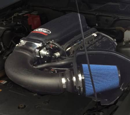 Ford Performance Cobra Jet Cold Air Intake Kit For 5 0l 4v