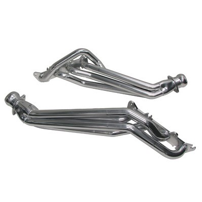 2011-2014 Ford Mustang 5.0L V8 - BBK Longtube Headers Polished Silver Ceramic