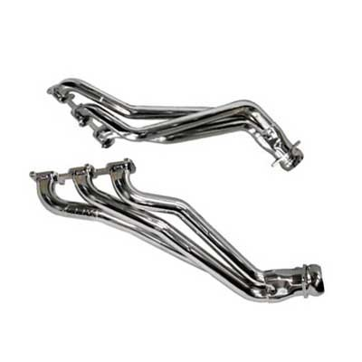 2011-2016 Mustang 3.7L V6 - BBK Longtube Headers Chrome