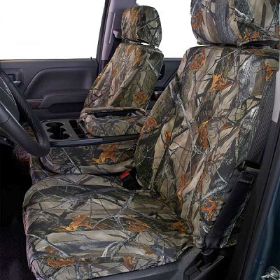 Covercraft Custom True Timber Camo Seat Covers First Row Bucket For 2015