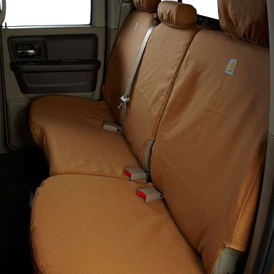 Covercraft Carhartt Custom Duck Weave Seat Covers (Second Row) for 2015-2016 Ford Edge