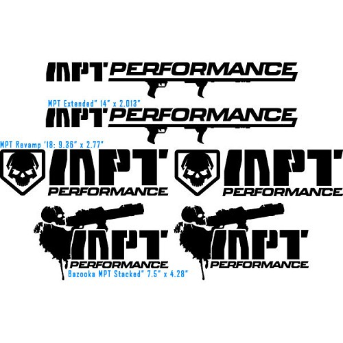 MPT Decal Set