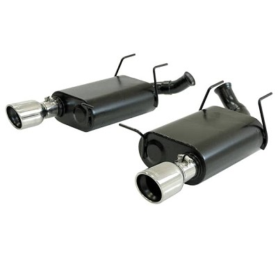 Flowmaster Force II Axle-Back Dual Exit Exhaust Kit 2011-2014 Ford Mustang 3.7L V6