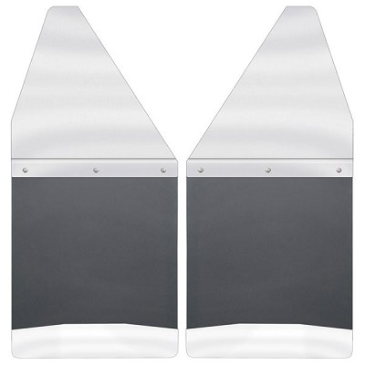 "Husky Liners Kickback 12"" Wide Front/Rear Mud Flaps for 2004-2018 Ford F-150 & 2017-2018 Ford Raptor"