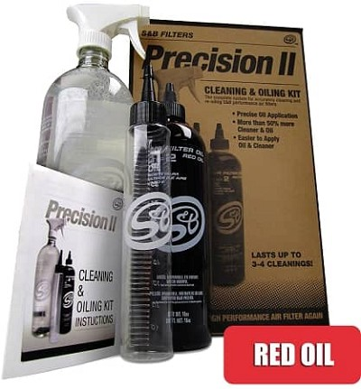 S&B Precision II: Cleaning & Oiling Kit (RED OIL)