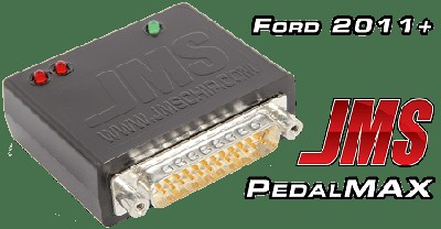 JMS Pedal Max - Increase Throttle Response Plug and Play 2011-2018 Ford Vehicles
