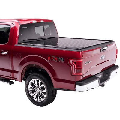 Retrax PowertraxPRO Electric Glossy Aluminum Tonneau for 2015-2017 Ford F-150 and Raptor