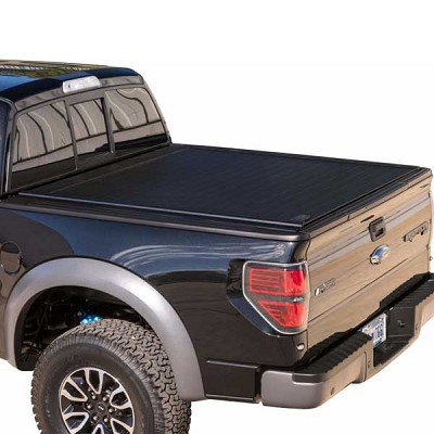 Retrax PowertraxPRO Electric Matte Aluminum Tonneau for 2015-2017 Ford F-150 and Raptor