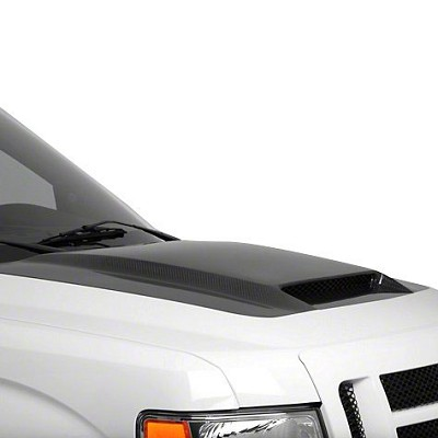 RK Sport Ram Air Hood with Carbon Fiber Blister 19013050 for 2009-2014 Ford F-150