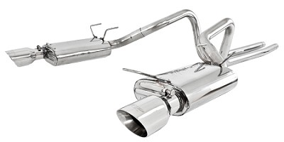 "2011-2014 Mustang 3.7L V6 - MBRP XP Series 2.5"" Cat Back Exhaust"