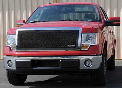 T-Rex Upper Class All Black Mesh Grille for 2009-2012 Ford F-150