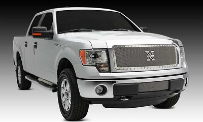 T-Rex X-Metal Polished Mesh Grille for 2013-2014 Ford F-150