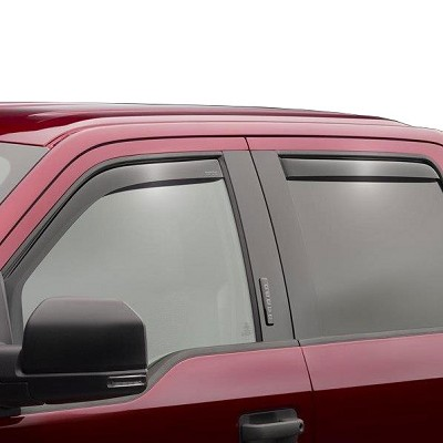 WeatherTech Side Window Deflectors for 2019 Ford Ranger SuperCrew